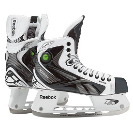 RBK White K Ice Hockey Skates